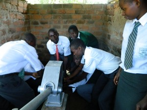 The Water Project : kenya4195-handing-over-3