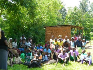 The Water Project : kenya4196-community-education-3