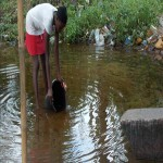 The Water Project: Lungi, Mahera Community Well Rehabilitation -