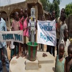 The Water Project: Lungi Magburaka Well Rehabilitation -