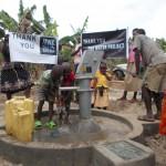 The Water Project: Nshwerempango Church -