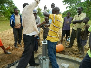 The Water Project : kenya4158-pump-installation-4-2