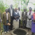 The Water Project: Kewa Village Borehole Rehab -