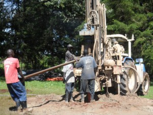The Water Project : kenya4157-drilling