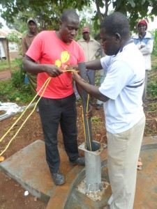The Water Project : kenya4204-pump-installation-1