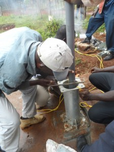 The Water Project : kenya4204-pump-installation-11