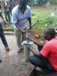 The Water Project : kenya4204-pump-installation-12