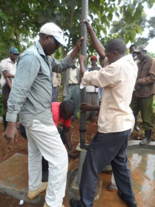 The Water Project : kenya4204-pump-installation-2