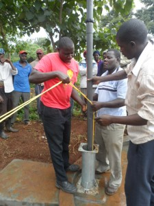 The Water Project : kenya4204-pump-installation-3