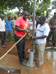 The Water Project : kenya4204-pump-installation-4