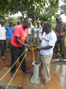 The Water Project : kenya4204-pump-installation-5