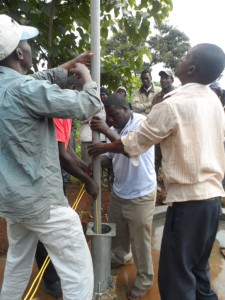The Water Project : kenya4204-pump-installation-7