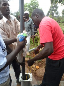The Water Project : kenya4204-pump-installation-8