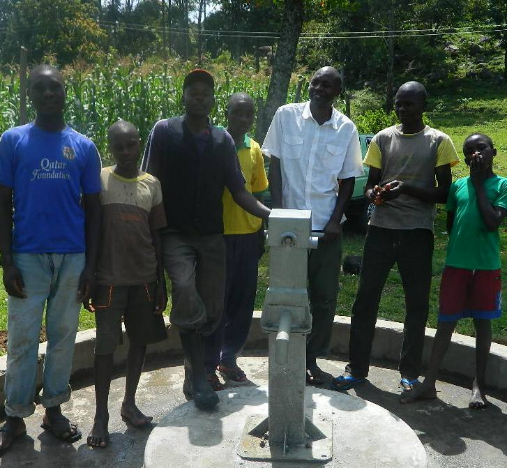 The Water Project : kenya4205-handing-over