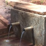 The Water Project: Kware Spring Catchment Project -