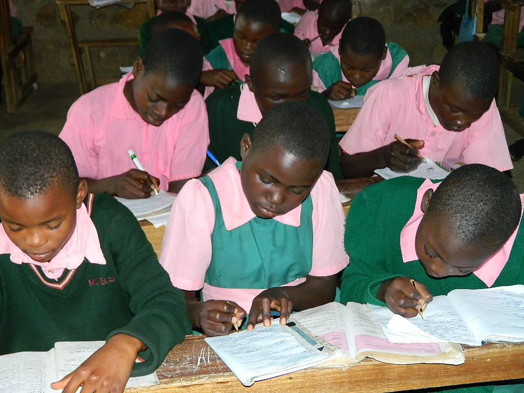 The Water Project : kenya4212-pupils-1