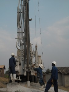 The Water Project : rwanda3065-drilling