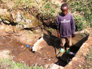 The Water Project : rwanda3065-previous-water-source