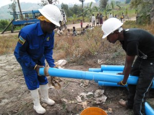The Water Project : rwanda3066-drilling-2