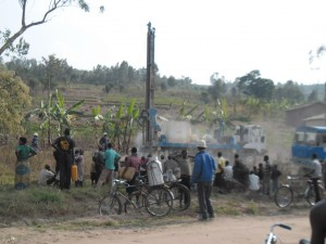 The Water Project : rwanda3066-drilling-5
