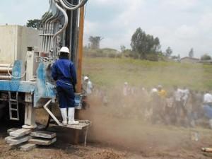 The Water Project : rwanda3068-drilling-1