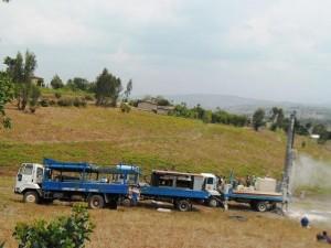 The Water Project : rwanda3068-drilling-2