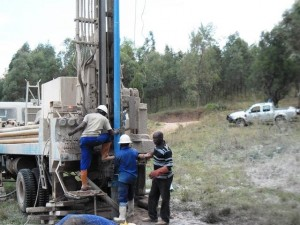 The Water Project : rwanda3070-drilling-1