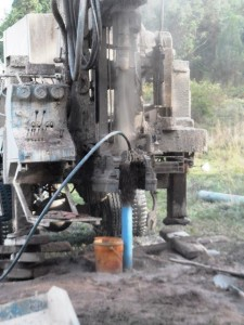 The Water Project : rwanda3070-drilling-2
