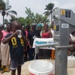The Water Project: Lungi, Royema, New Kambees Well Rehabilitation -