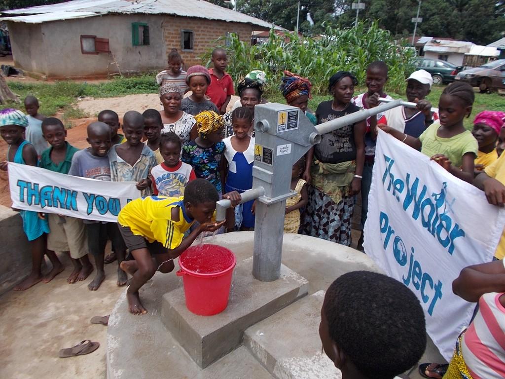 Photo of Rutifunk Lungi Community Well Rehabilitation
