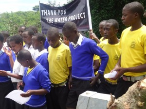 The Water Project : uganda6036-community-2