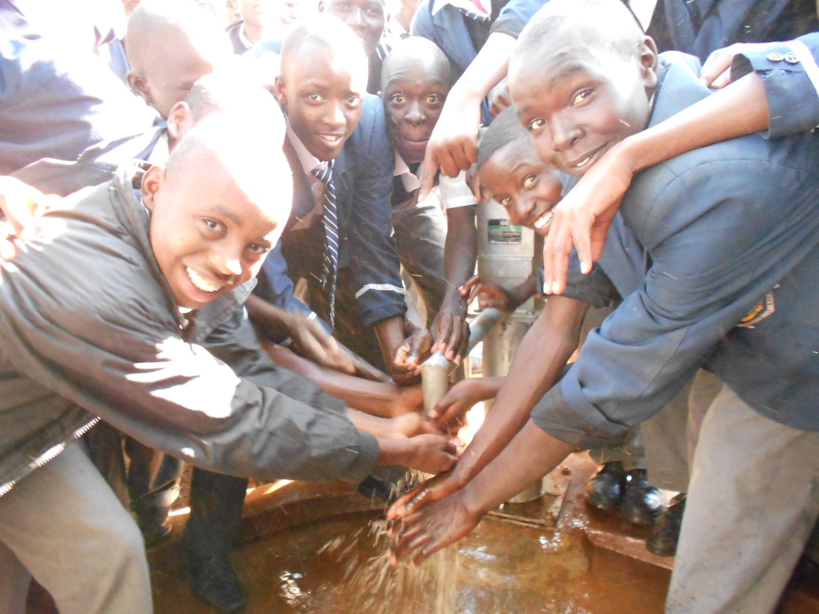 The Water Project : kenya4159-handing-over-1