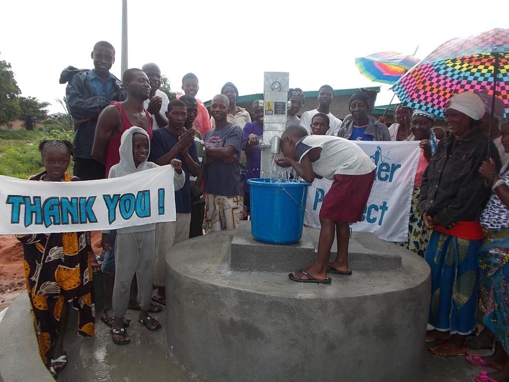 Photo of Thullah Street, Thumorso Community Well Rehabilitation