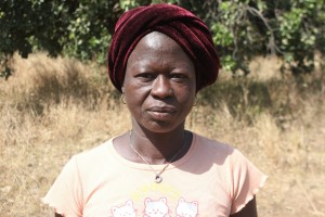Amelie S - Farmer, discussing her newly donated water project in Burkina Faso