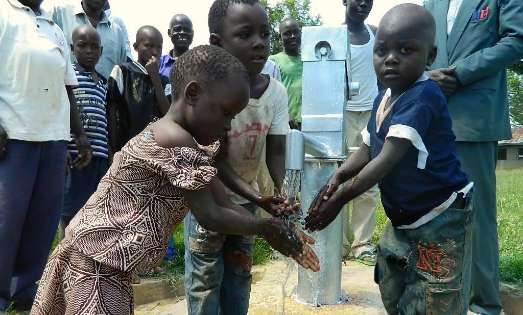 The Water Project : kenya4217-35-handing-over