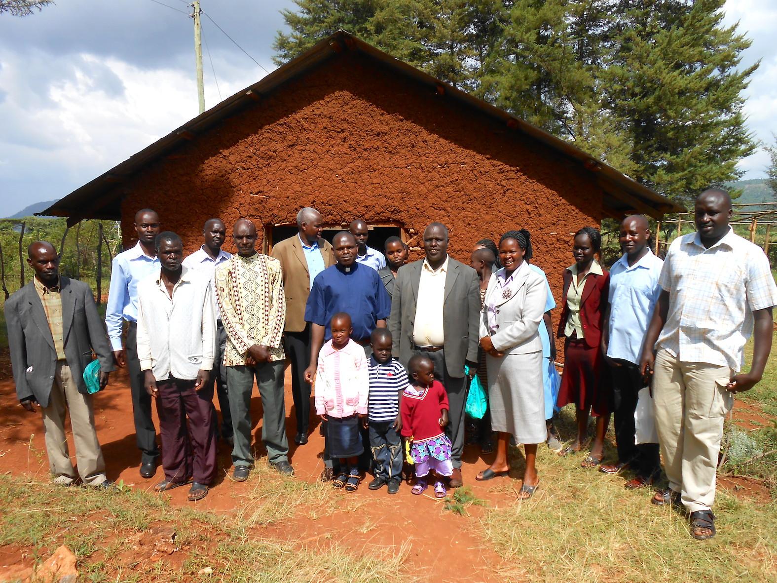 The Water Project : kenya4220-04-tuktuk-catholic-church-members-1