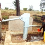 The Water Project: Mbaa Ngoka Community A -