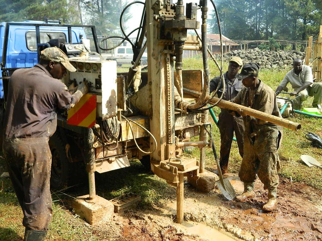 The Water Project : kenya4220-15-st-patricks-tuk-tuk-church-drilling-2