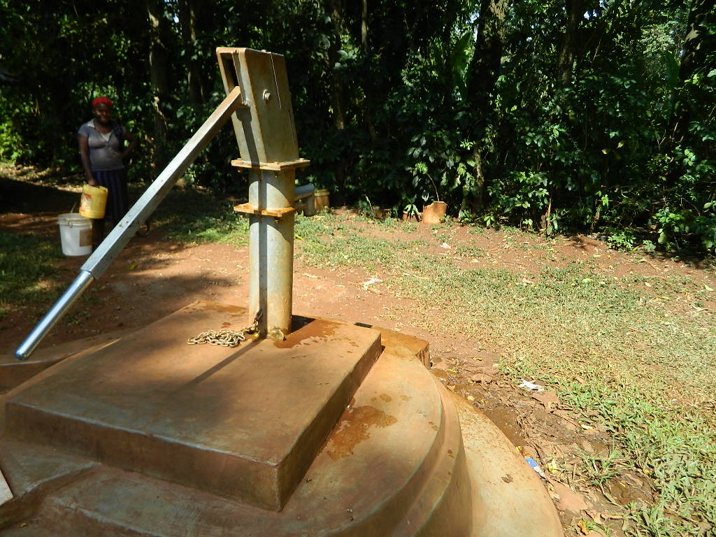 The Water Project : kenya4250-04-the-mark-too-pump-that-needs-to-be-changed-due-to-rusty-pipes-2