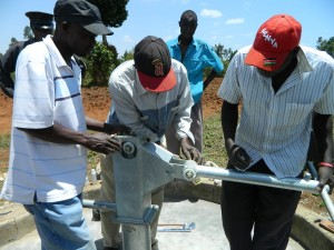 The Water Project : kenya4248-23-imakale-pump-installation