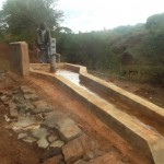 The Water Project: Nzengu Nngomani Shallow Well #1 -