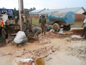 The Water Project : kenya4221-11-drilling-of-tulon-secondary-school-water-project