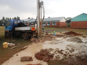 The Water Project : kenya4221-14-drilling-of-tulon-secondary-school-water-project