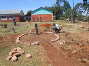 The Water Project : kenya4221-20-tulon-secondary-school-pad-construction