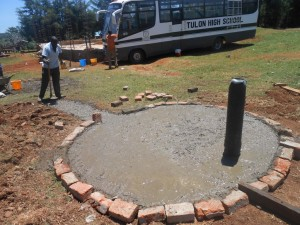The Water Project : kenya4221-21-tulon-secondary-school-pad-construction