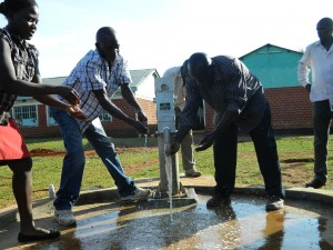 The Water Project : kenya4221-31-tulon-secondary-school-pump-installation