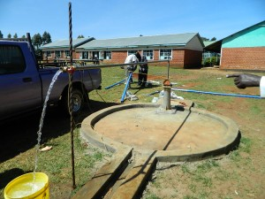 The Water Project : kenya4221-32-tulon-secondary-school-test-pumping