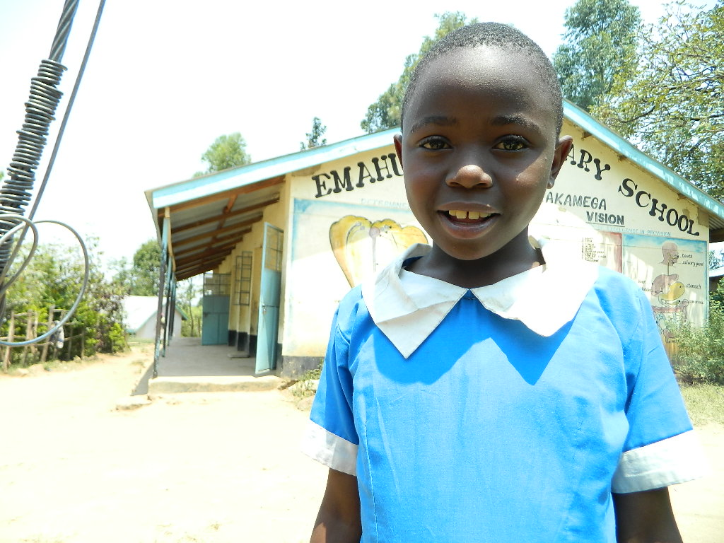 The Water Project : kenya4222-17-pupils-of-emahungu-primary-school-on-interview