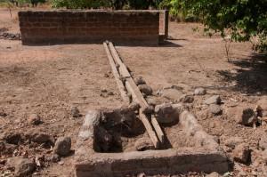 The Water Project : burkinafaso9055-09-drain-and-sump-repairs