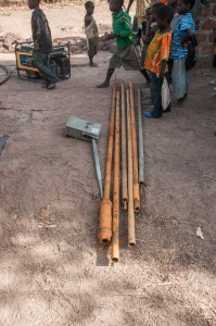 The Water Project : burkinafaso9055-11-old-pump-parts-removed